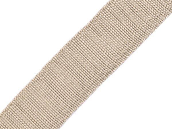 Gurtband 30mm beige