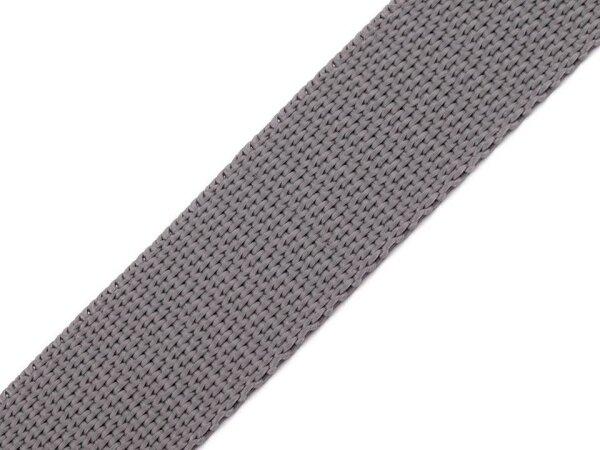 Gurtband 40mm grau