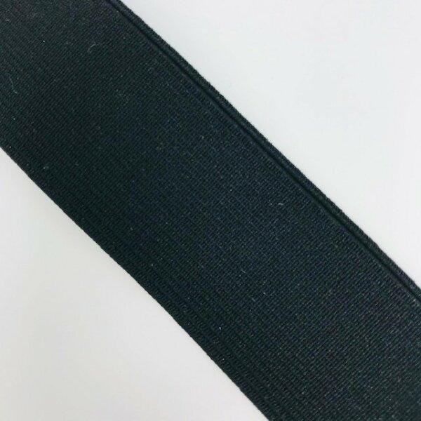 Einziehgummi 30mm schwarz