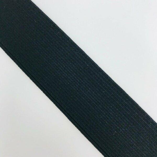 Einziehgummi 24mm schwarz