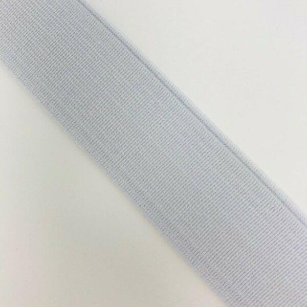 Einziehgummi 24mm weiß