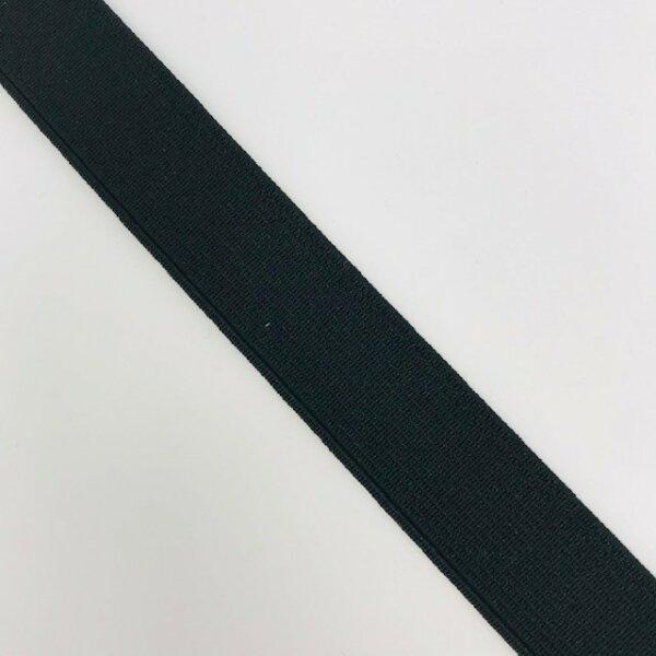 Einziehgummi 18mm schwarz