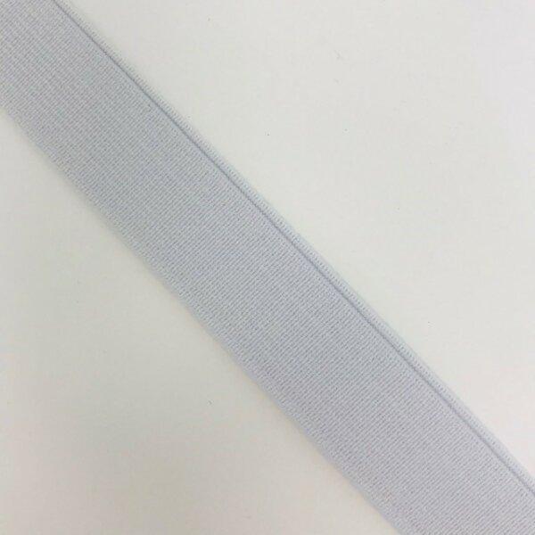 Einziehgummi 18mm weiß