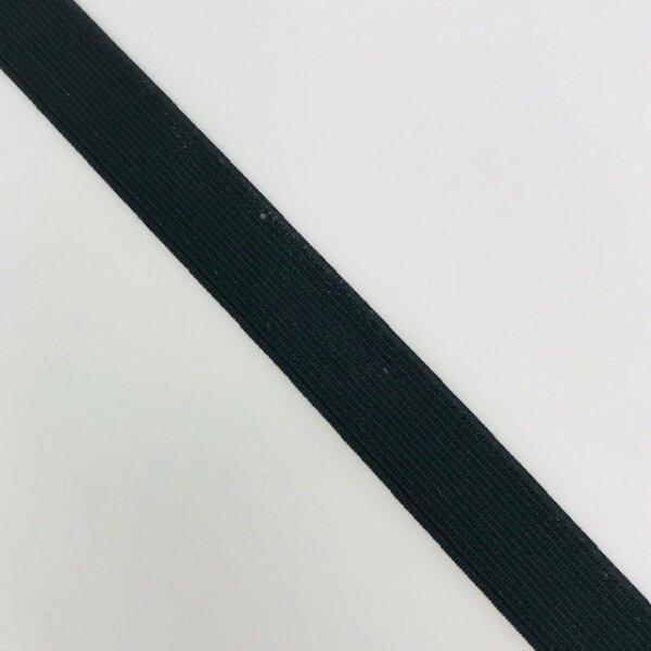 Einziehgummi 15mm schwarz