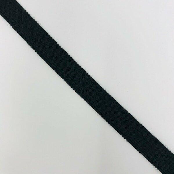 Einziehgummi 12mm schwarz