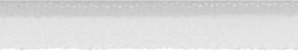 Elastische Paspel 10mm weiß