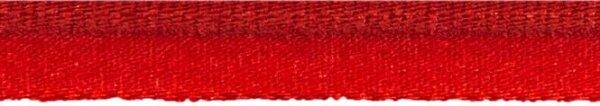 Elastische Paspel 10mm rot