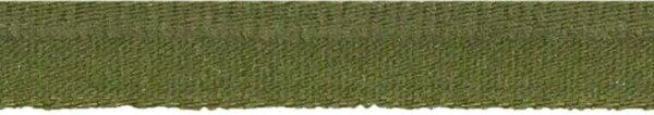 Elastische Paspel 10mm olivgrün