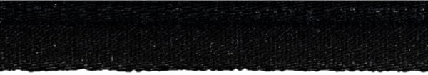 Elastische Paspel 10mm schwarz