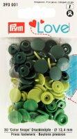Prym Love Color Snaps Ø 12,4mm grün