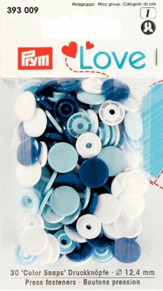 Prym Love Color Snaps Ø 12,4mm blau