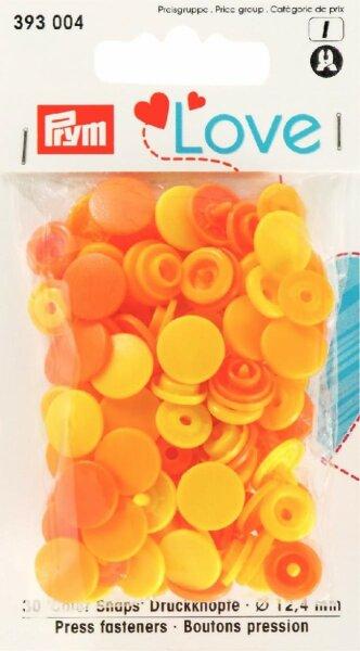 Prym Love Color Snaps Ø 12,4mm gelb