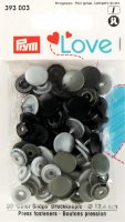 Prym Love Color Snaps Ø 12,4mm grau