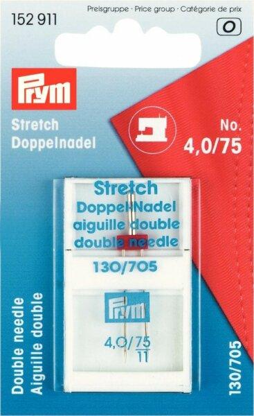Prym Maschinennadel Twin-Stretch No. 4,0/75