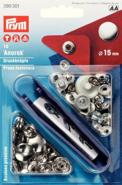 Prym Anorakdruckknöpfe Ø 15mm