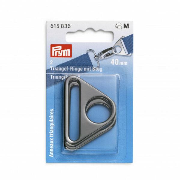 Prym Triangel-Ringe mit Steg 40mm