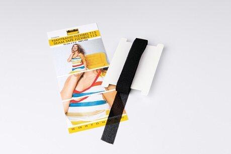 Vlieseline Nahtband 15mm x 5m schwarz
