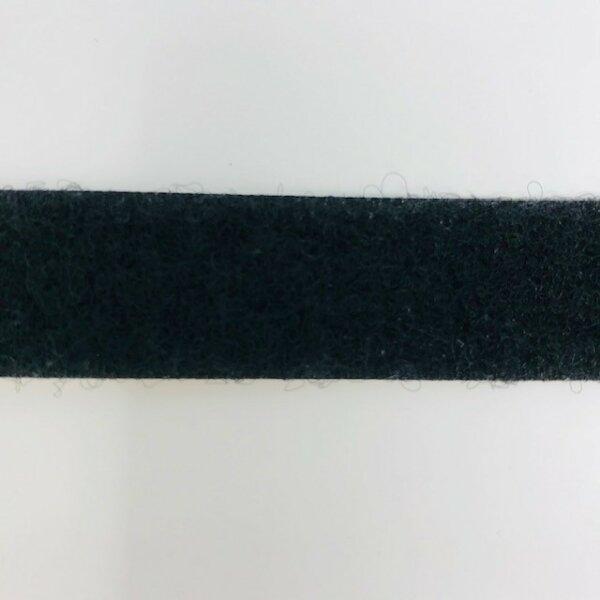 Flauschband 20mm selbstklebend schwarz