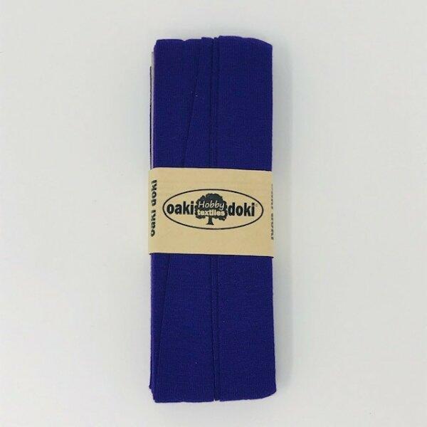 Jersey-Schrägband 40/20mm violett