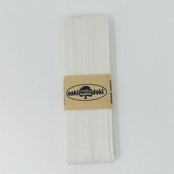 Jersey-Schrägband 40/20mm creme