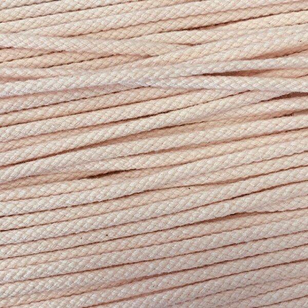 Flechtkordel 6mm hellrosa