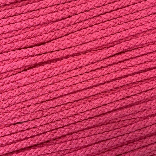 Flechtkordel 6mm rosa