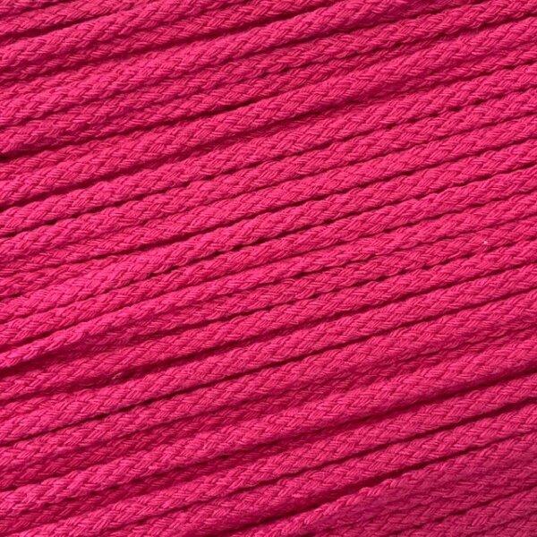 Flechtkordel 6mm pink