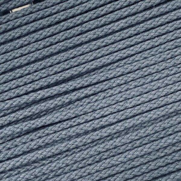 Flechtkordel 6mm jeansblau