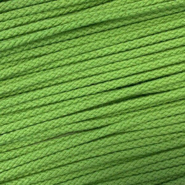 Flechtkordel 6mm grasgrün