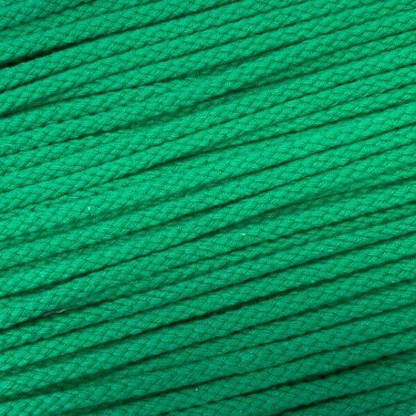 Flechtkordel 6mm grün