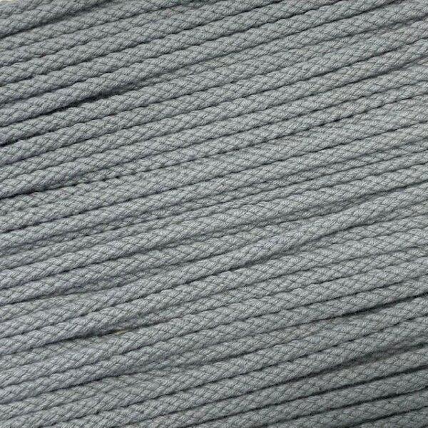 Flechtkordel 6mm grau