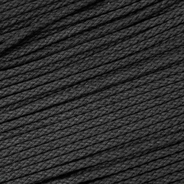 Flechtkordel 6mm dunkelgrau