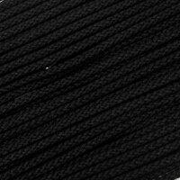 Flechtkordel 6mm schwarz