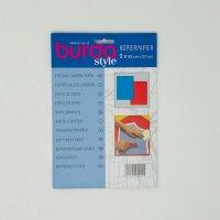 Burda Kopierpapier 2 Bögen à 83x57cm blau/rot
