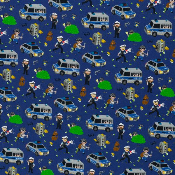 Gangsterjagd Jersey blau