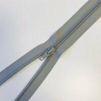 Reißverschluss teilbar 30cm grau