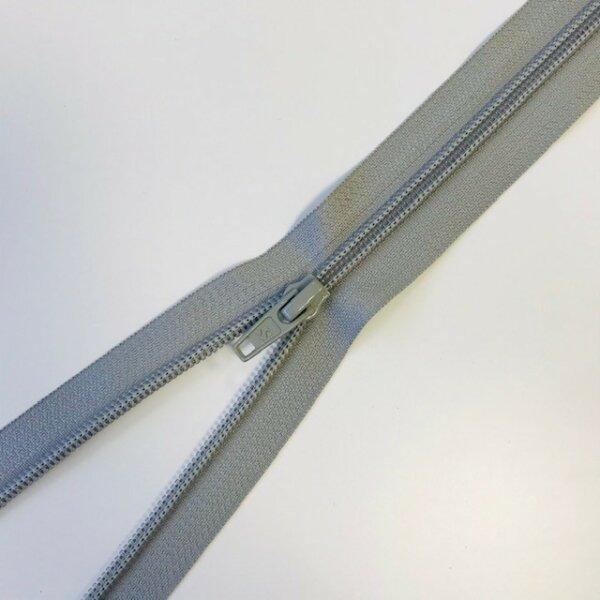 Reißverschluss teilbar 50cm grau