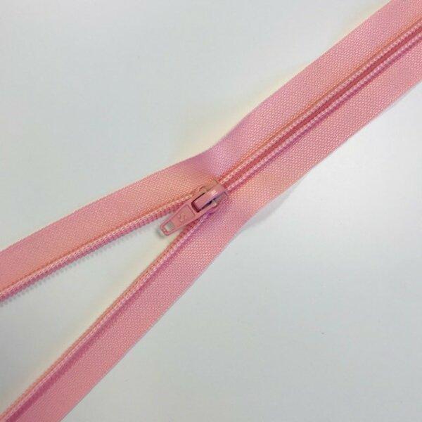 Reißverschluss teilbar 65cm rosa