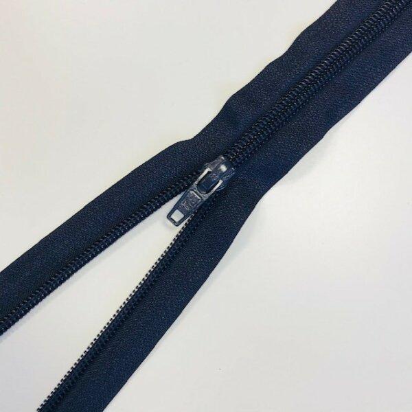 Reißverschluss teilbar 75cm dunkelblau