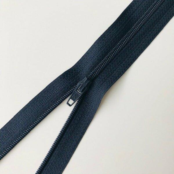 Reißverschluss unteilbar 20cm dunkelblau