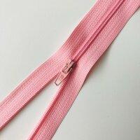 Reißverschluss unteilbar 20cm rosa