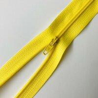 Reißverschluss unteilbar 30cm gelb
