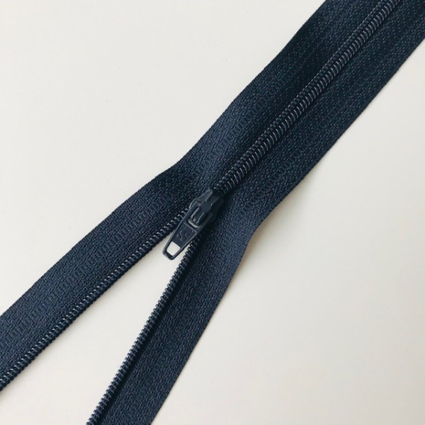 Reißverschluss unteilbar 35cm dunkelblau