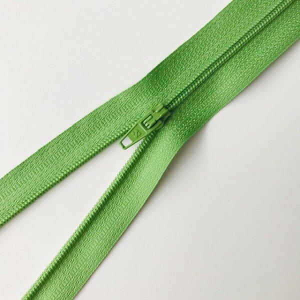 Reißverschluss unteilbar 45cm grün
