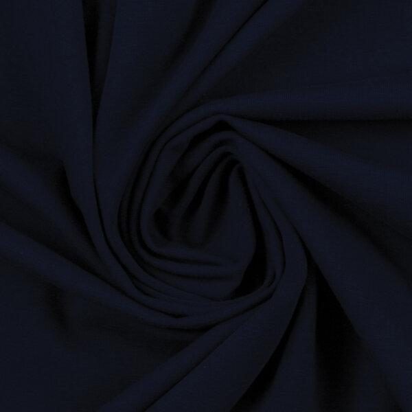 Baumwolljersey 000599 uni, dunkelblau