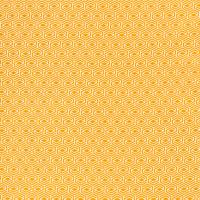 Geometric Baumwolle senf