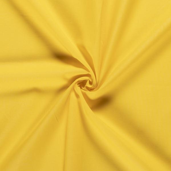 Unibaumwolle gelb
