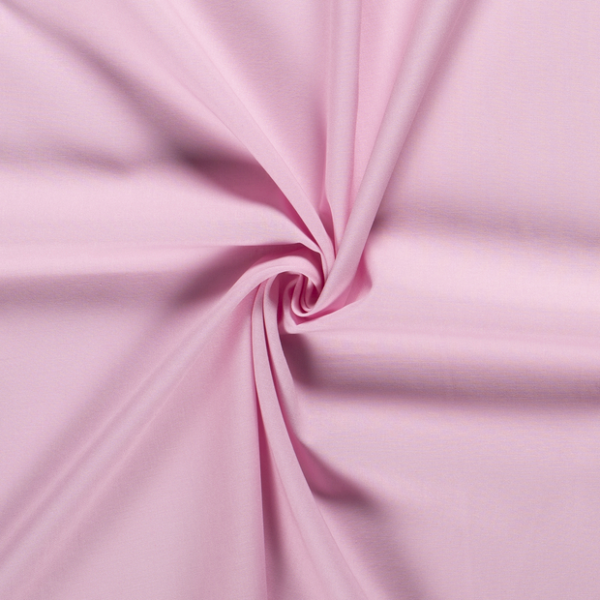 Unibaumwolle rosa