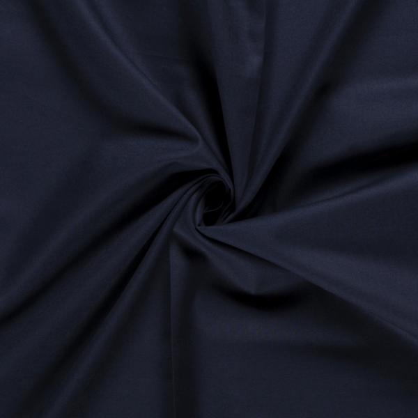 Unibaumwolle dunkelblau