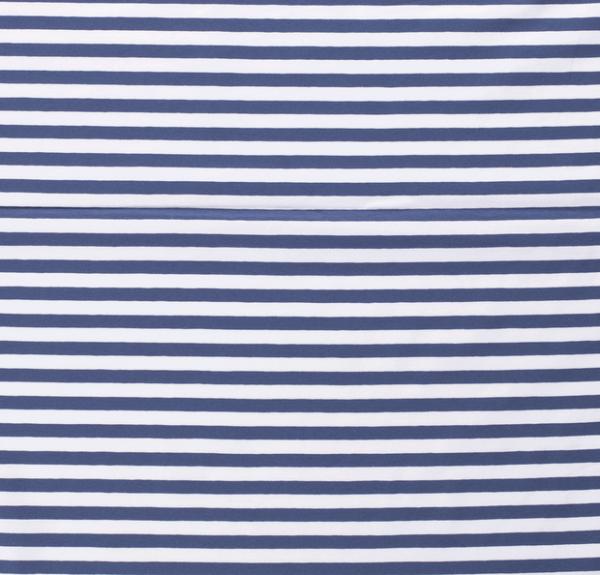 Streifen breit Jersey jeansblau